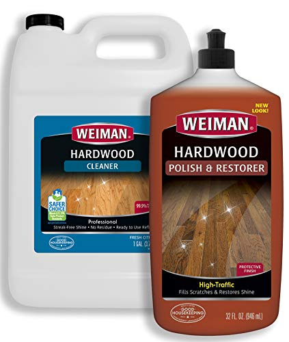Weiman Hardwood Floor Cleaner Polish