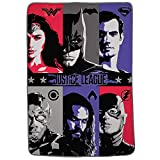 Franco Kids Bedding Blanket, Twin/Full Size 62' x 90', Justice League