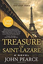 Treasure of Saint-Lazare (Large Print): A Novel of Paris (Eddie Grant Series)