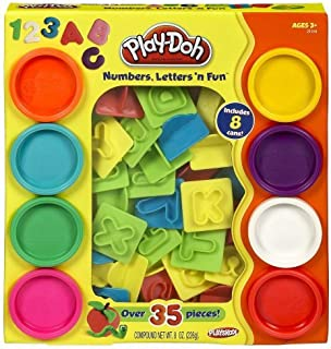 Play-Doh 35-Piece Numbers, Letters and Fun Art Toy