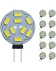 Pocketman t Dimbara G4 LED-glödlampor, 20 W ersättning för halogenljus, DC 12 V 200 LM G4 LED-glödlampor, 10-pack