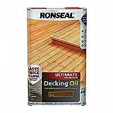 Ronseal Ultimate Protection Decking Oil Teak 5L