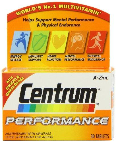 4 Packs of Centrum Performance 30 Tablets = Total 120 Tablets.