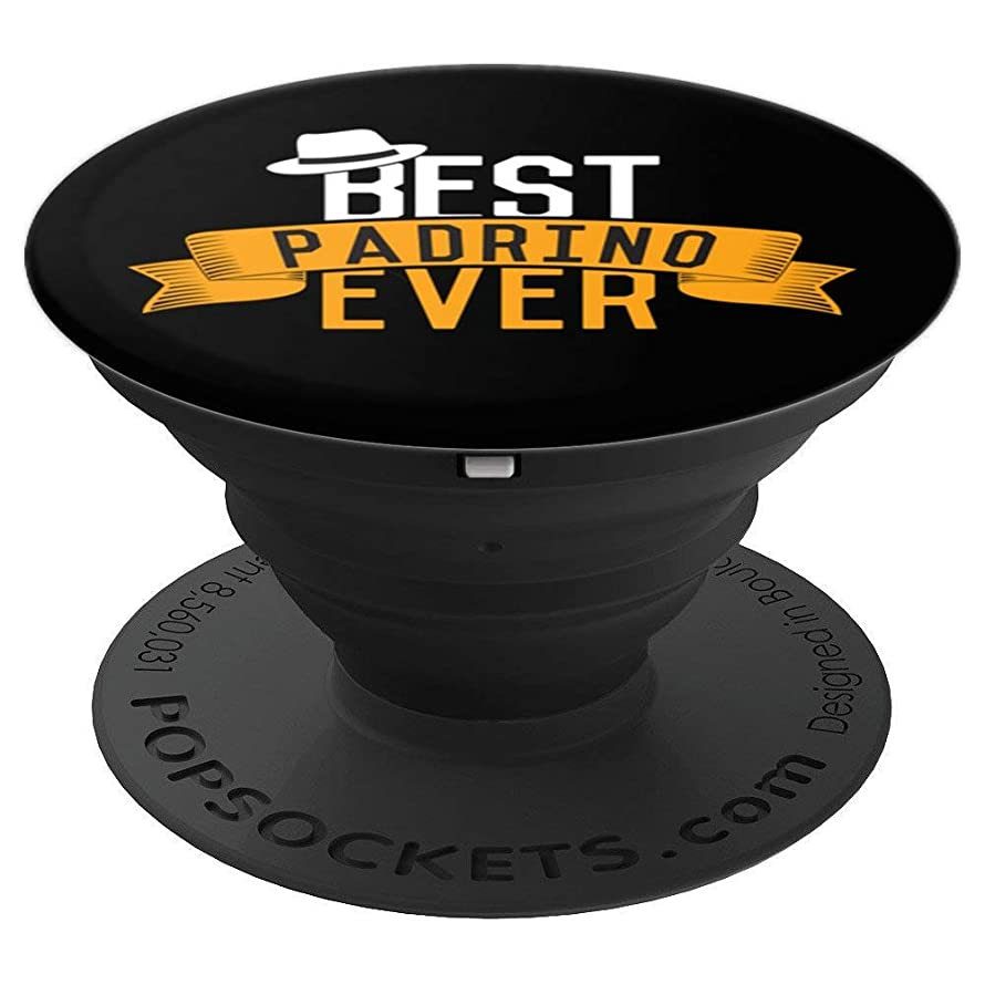 Best Padrino Ever | Funny Favorito Godfather Gift - PopSockets Grip and Stand for Phones and Tablets