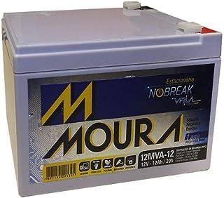 Bateria Moura Centrium ENERGY 12MVA-12 Estacionaria Nobreak 12V 12AH