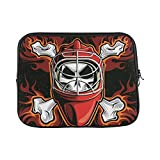 INTERESTPRINT 11 Inch 11.6 Inch Laptop Carrying Bag Hockey Goalie Notebook Sleeve Case Cover