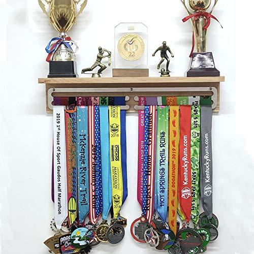 Colgador medallas Soporte medallas Exhibición suspensión Medalla Medal Hanger Medal Rack para Corredores,medallas,Expositor de medallas,para Maratón,Correr,Carrera,medallas Deportivas