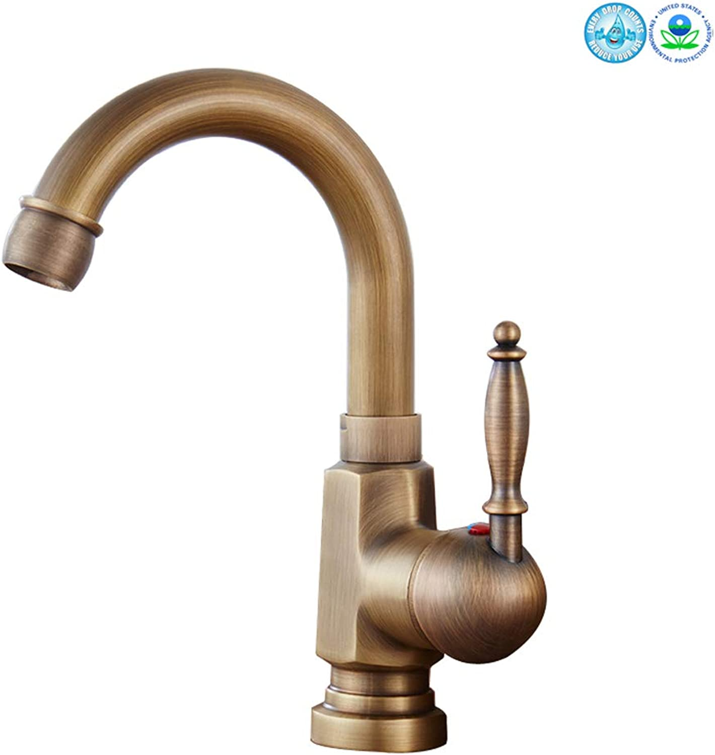 Tap Tap,Mixer Single Handle Bathroom Sink Water Faucet Taps Brushed Nickle Hot Cold Mixer