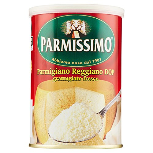 Parmissimo Parmigiano Reggiano - Grattugiato, 160 Gr.