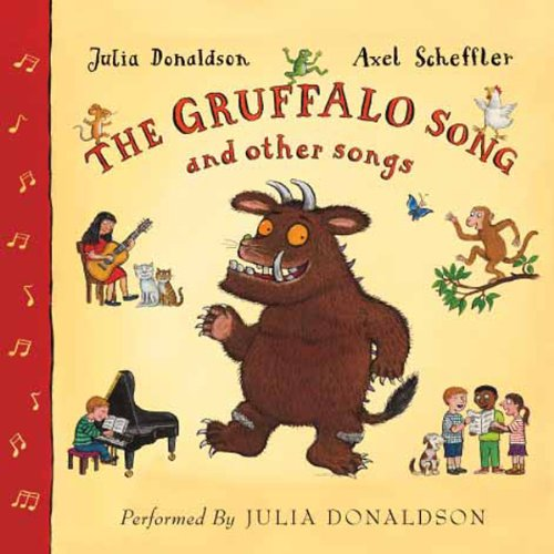 『The Gruffalo Song & Other Songs』のカバーアート