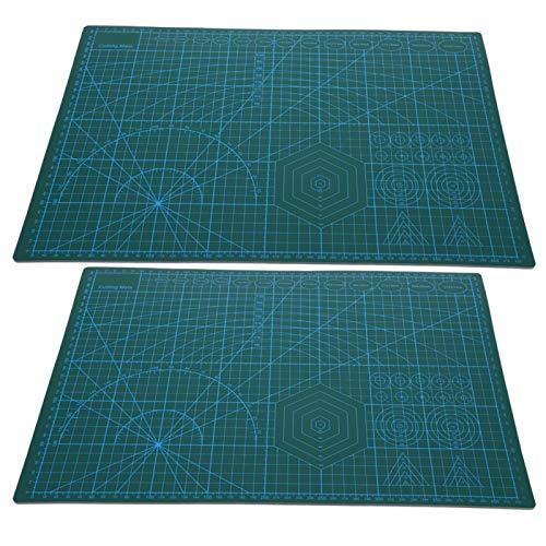 Alfombrilla de corte, tabla de cortar artesanal práctica resistente al desgaste duradera para cortar papel para el hogar de los estudiantes para la oficina para el escritorio