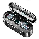 WZTO Auriculares Bluetooth Inalámbricos Control Táctil 150H Auriculares Bluetooth 5.0 Micrófonos Dual Incorporado Hi-Fi Estéreo Deportivos Auriculares IPX6 Impermeable CVC 8.0 Reducción de Ruido