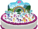 Toppershack 27 x decoración para pasteles comestibles PRECORTADAS de My Little Pony