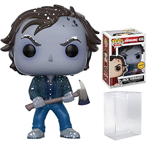The Shining Jack Torrance Pop! Vinyl Figure Chase Variant and (Bundled with Pop BOX PROTECTOR CASE)