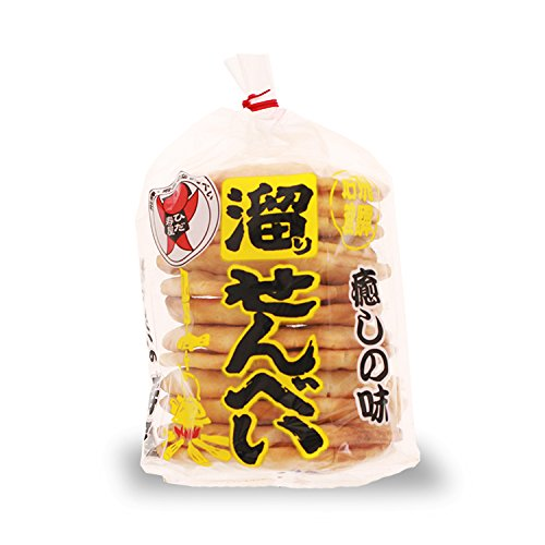 飛騨銘菓 寿屋 せんべい(12枚入)(溜りせんべい)//