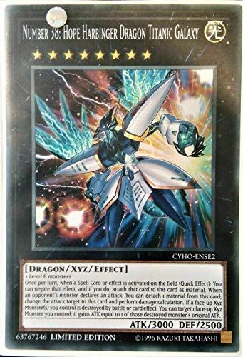Number 38: Hope Harbinger Dragon Titanic Galaxy - CYHO-ENSE2 - Mint