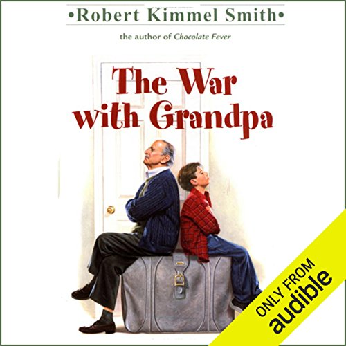 The War with Grandpa  audiobook cover art