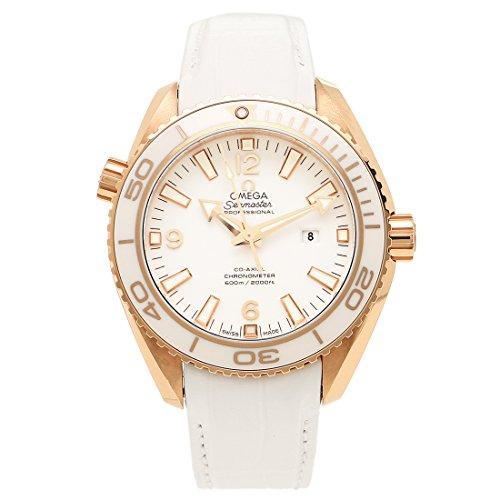 [オメガ] 腕時計 レディース OMEGA 232.63.38.20.04.001 ホワイト ローズゴールド [並行輸入品]