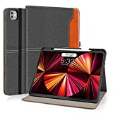 DLveer Case for iPad Pro 11 2021/2020 with Pencil Holder,