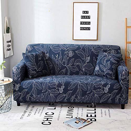 Fundas de sofá elásticas Protector de Muebles elástico Funda de sofá l Funda de sillón para Sala de Estar 1/2/3/4 plazas A12 3 plazas