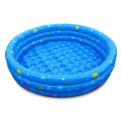 MZH 130 x 33 cm al Aire Libre 3 niños Piscina Inflable Juegos de Entretenimiento acuático