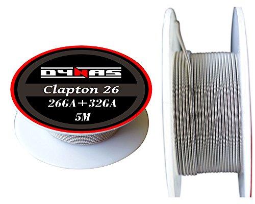 Dynas® Clapton Wire Kanthal A1 5Meter (5m) Spool RDA RBA...