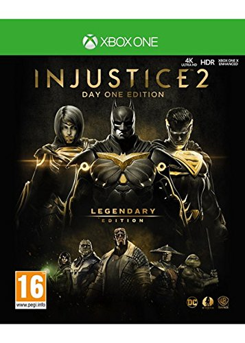 Injustice 2 Legendary Edition Day One Edition - Steelbook with exclusive DLC (Xbox One) UK IMPORT REGION FREE