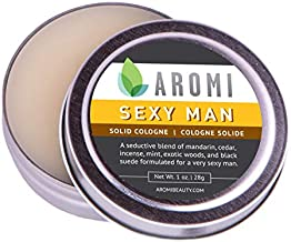 Solid Cologne   Best Men's Fragrance; Affordable Cologne for Travel; Manly Gift Idea,1 oz, Aromi (Sexy Man)