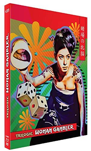 Woman Gambler Coffret - The Cat Gambler - Woman Gabler - Revenge Of The Woman Gambler [Blu-Ray] [Combo Collector Blu-ray + DVD]