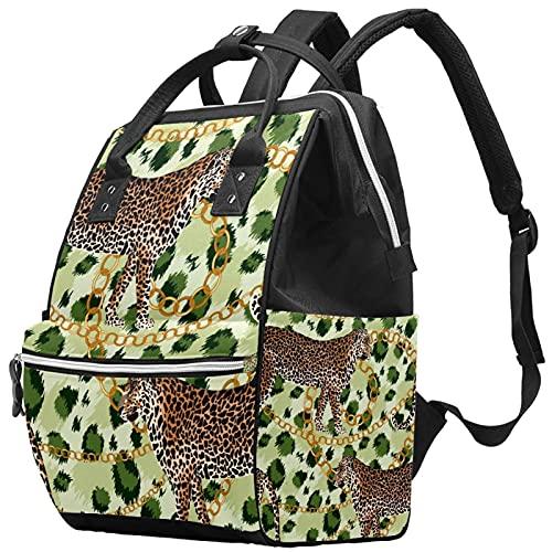 Elegante bolso de pañales, mochila de viaje para ordenador portátil, mochila impermeable para mujeres, hombres, rojo, rosa, amarillo, nota musical, regalo de estrella, Color6, Talla única