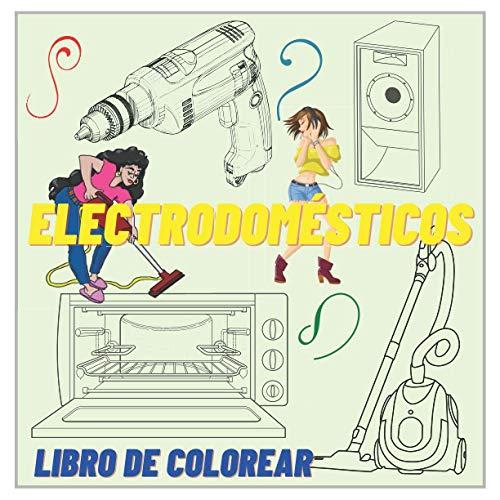 Electrodomésticos - Libro de colorear