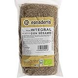 Biopanadería Pan de Molde Integral con Semillas Ecológico Elaborado con Masa Madre Natural (Trigo Integral con Sésamo)