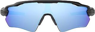 اوكلي نظارات شمسية نصف إطار للرجال ، ازرق - OO9208 92085538