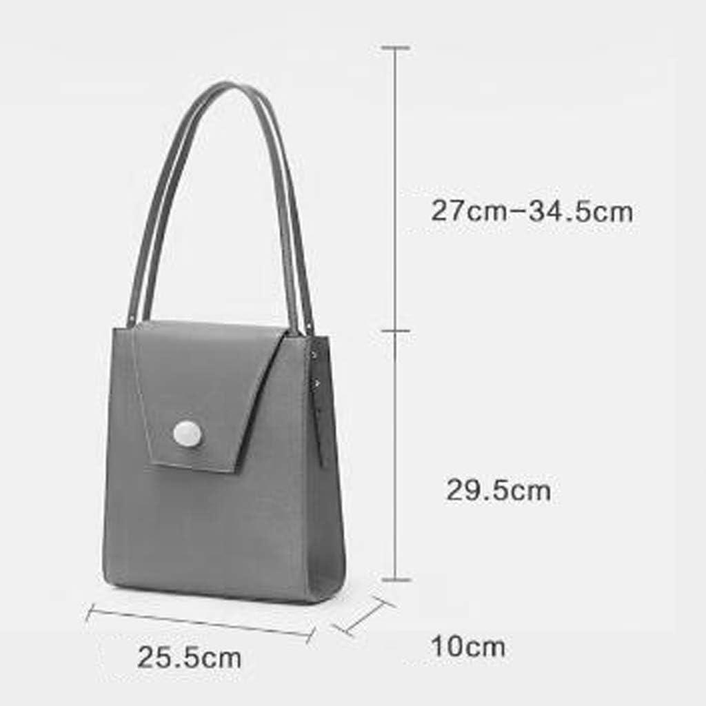 Niche Designer Tote Big Bag Automne Nouveau Retro Épaule Portable Sac À Main (Couleur : Marron) Marron