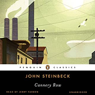 Cannery Row audiobook cover art
