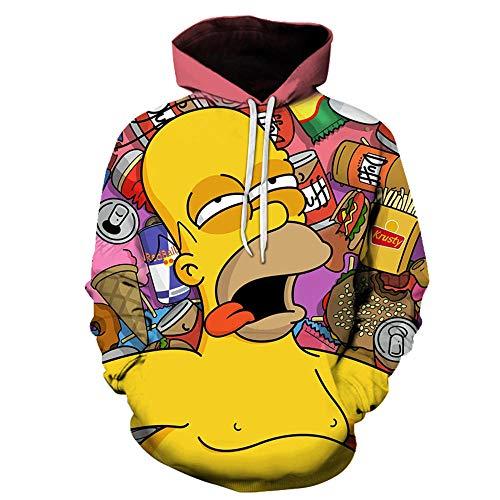 hhalibaba Simpson gedruckt 3D Männer Frauen Hoodies 6XL Sweatshirts Qualität Kapuzenjacke Neuheit Streetwear Mode Casual Pullover