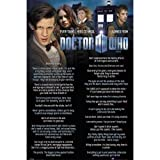 Doctor Who Poster Everything I Know Maxi