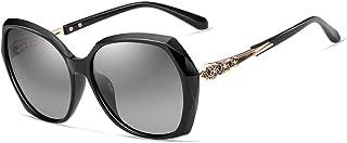نظارة كيه اتش فيثديا الشمسية الانيقة بعدسات مستقطبة وحماية من الاشعة فوق البنفسجية للنساء