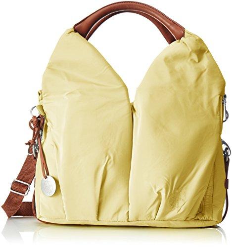 LÄSSIG Stylische Umhängetasche Schultertasche/Glam Signature Bag, popcorn