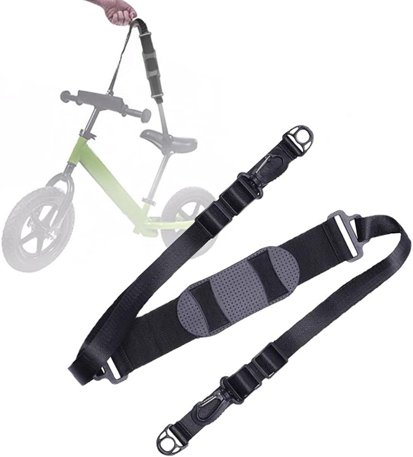Klevery Correa de hombro para scooter – Accesorios para cinturón de transporte para moverse y Kick Scooter, bicicleta de equilibrio, silla de playa, ajustable