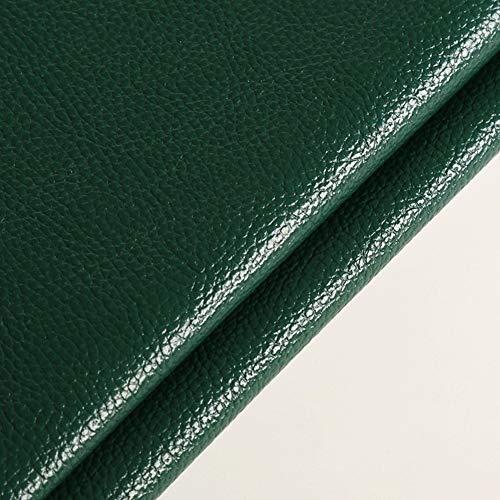 polipiel PU Tela de imitación Con textura de cuero graneado de imitación tela de cuero superficie de cuero suave del bolso Sofá de la tela artificial grueso del sofá de cuero PU material de la ropa ta