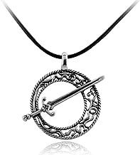 عقد دارك سولز III مع شفرة القمر - فضي/معدني (0.4 أونصة)