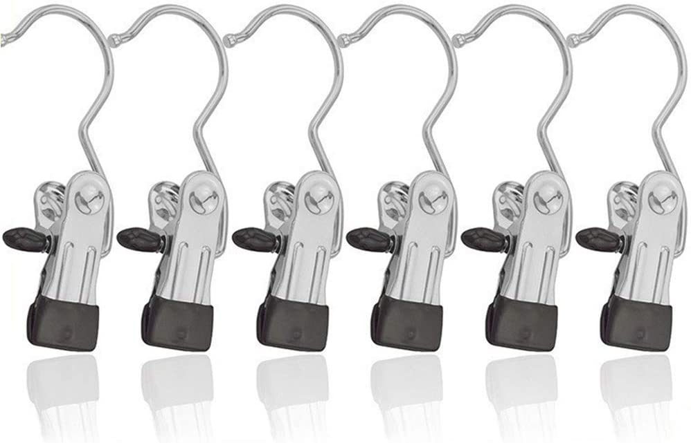 Max 54% OFF Metal Clothes Pins 12pcs Coat Laundry Hangers Single 67% OFF of fixed price Portable
