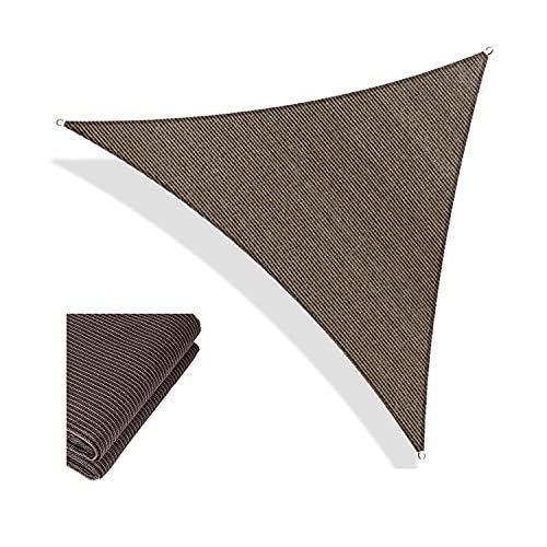 YLJXXY Toldo Vela de Sombra Triangular Resistente y Transpirable Protección Rayos UV Toldo de Vela Solar para Exterior, Jardín, Terrazas
