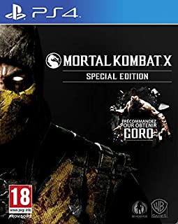 Mortal Kombat X - édition spéciale (B00T9A6PHO) | Amazon price tracker / tracking, Amazon price history charts, Amazon price watches, Amazon price drop alerts