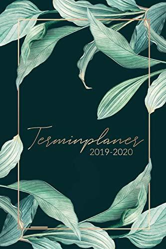 Terminplaner 2019 2020: Kalender 2019 2020 - Wochenplaner, Taschenkalender und Terminkalender von Oktober 2019 bis Dezember 2020 zum planen, organisieren und notieren