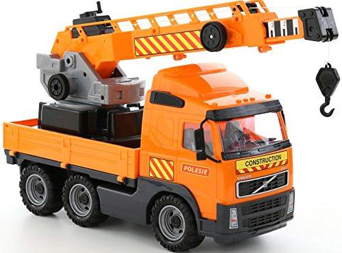 Polesie 8824 Volvo Kran auf Wendeplattform