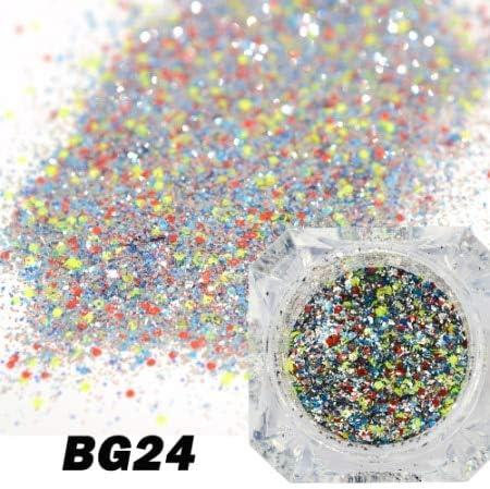 Gabcus Full Beauty Holographic Diamond Nail Flakes DIY 5 ☆ Portland Mall very popular Platinum