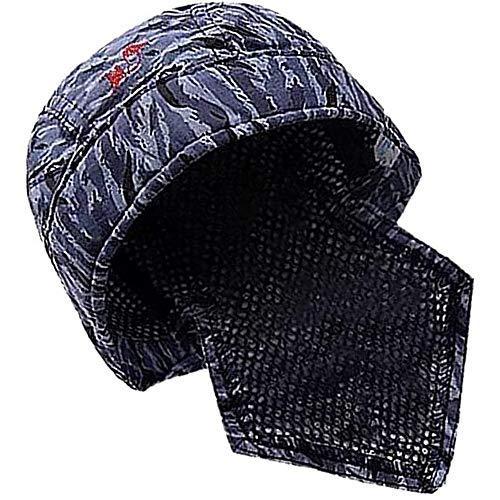 POFET - Gorro protector para soldar (algodón, ignífugo, 1 unidad)