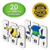 The Learning Journey: Match It! - 3 Letter Words - 20 Self-Correcting Reading &...